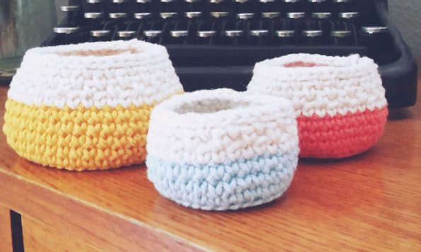 Free Crochet Bowl Set Pattern