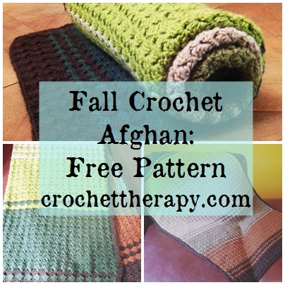 Fall Crochet Afghan