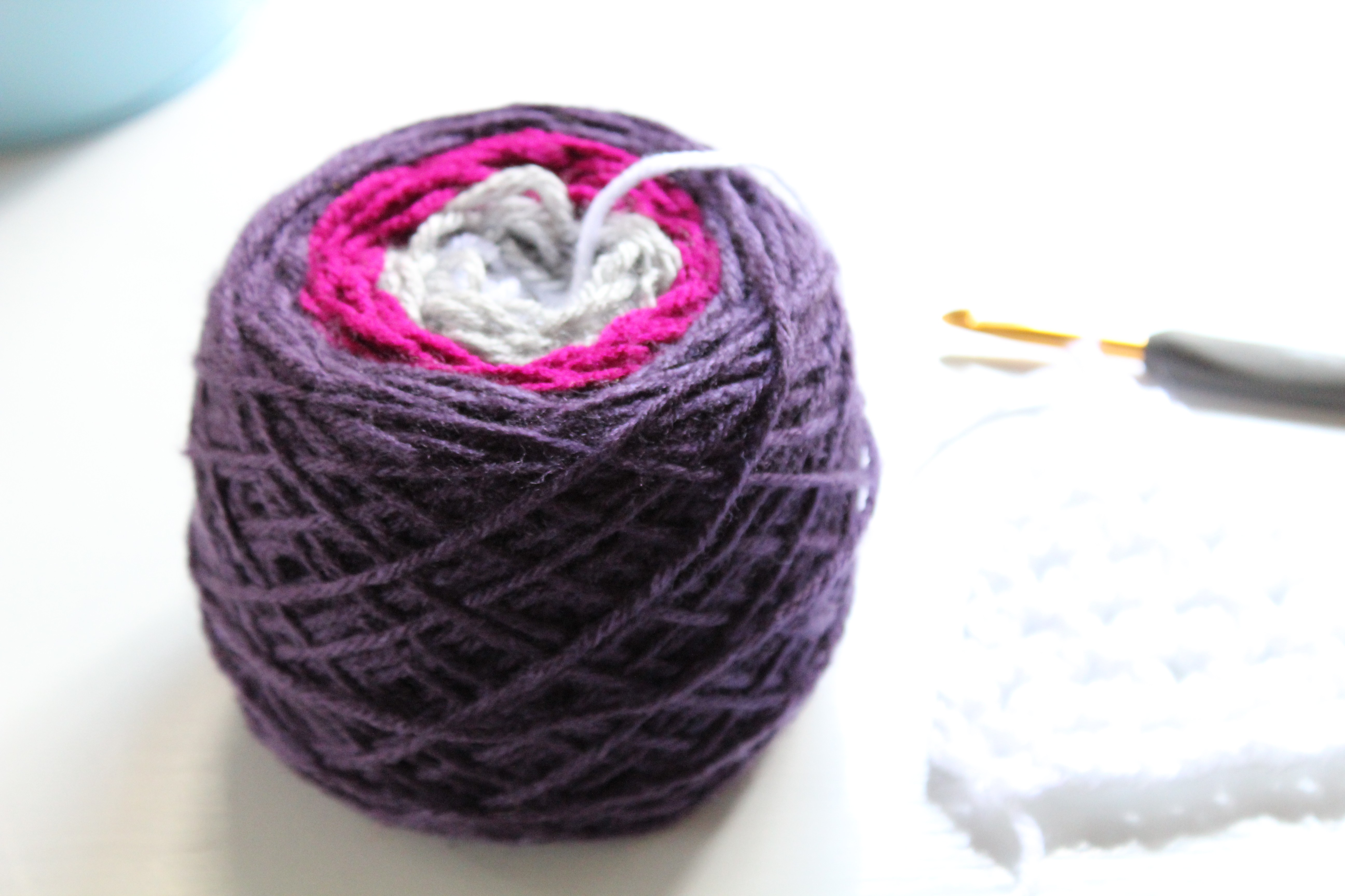 Seamless yarn join