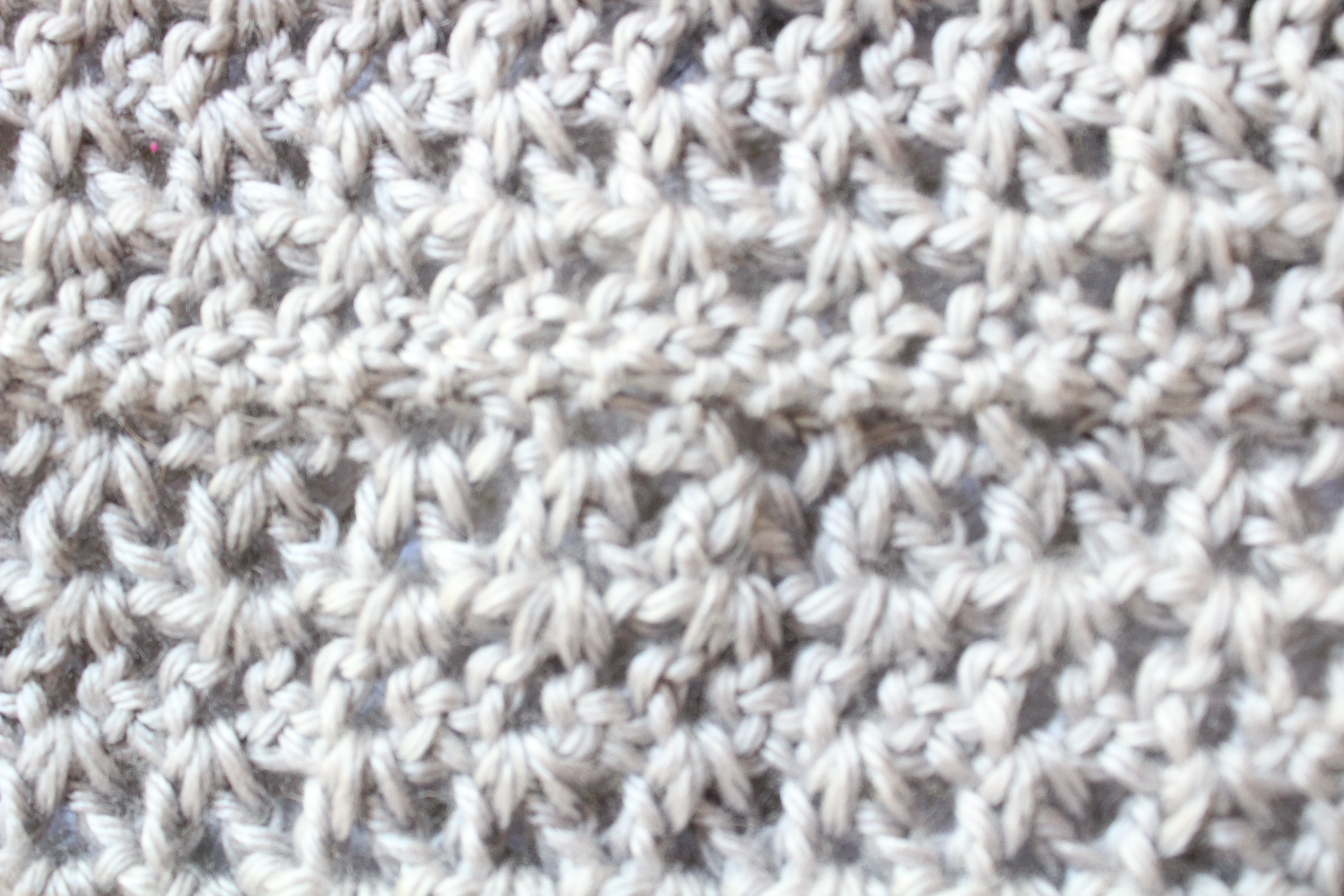 free crochet v stitch scarf pattern to brighten your mood