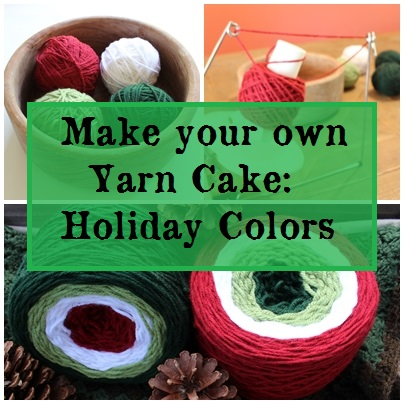 make your own yarn cake
