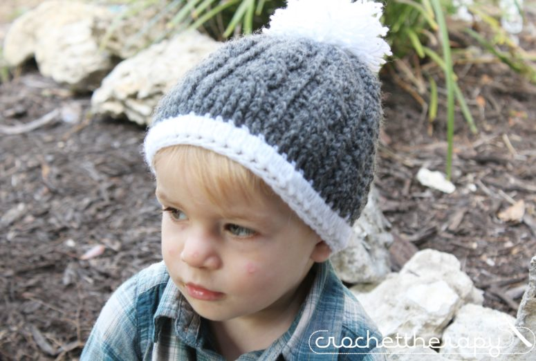 Cable Crochet Hat Pattern Free Crochet Cable Hat Pattern On The Blog