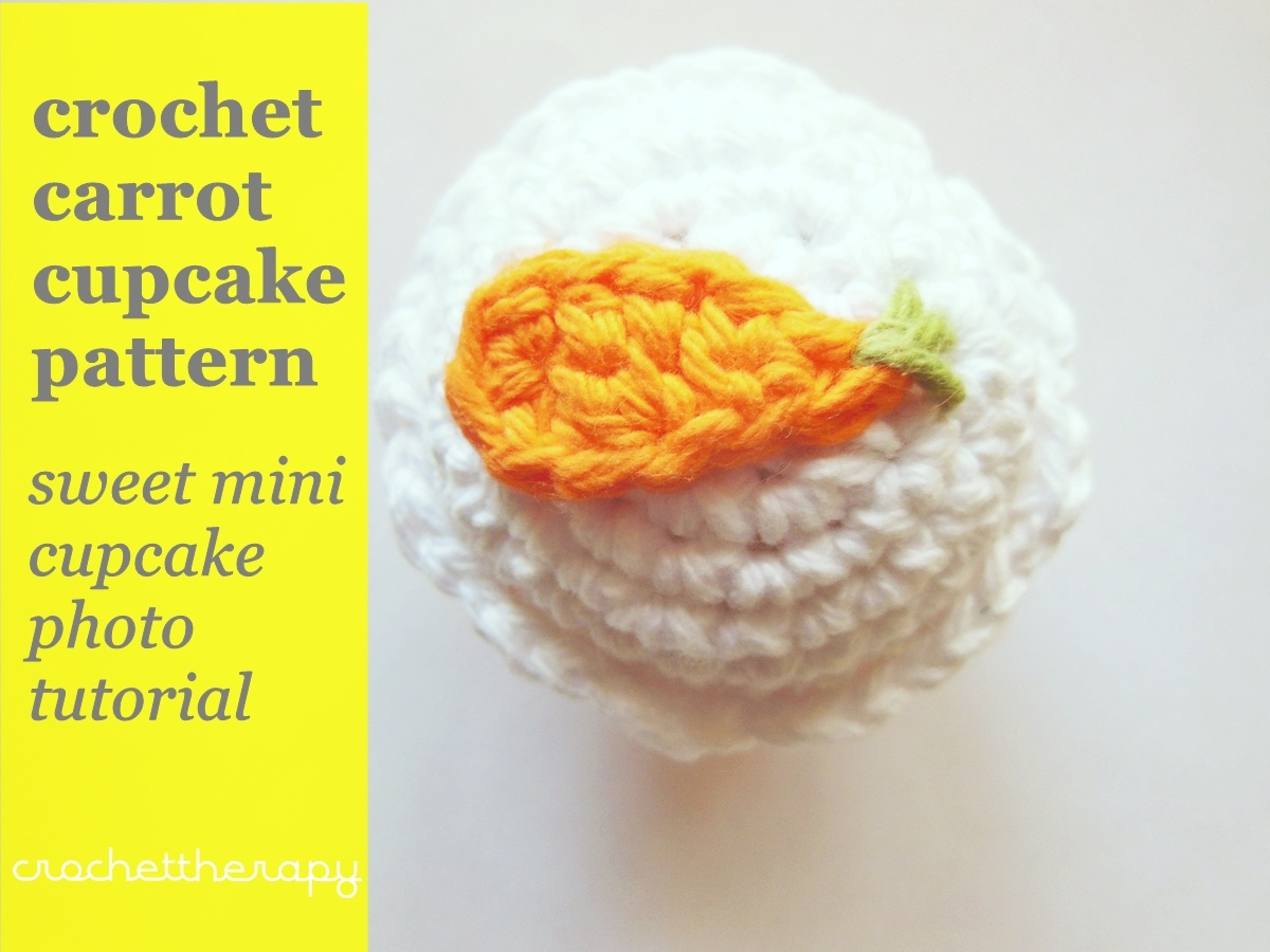 crochet food pattern