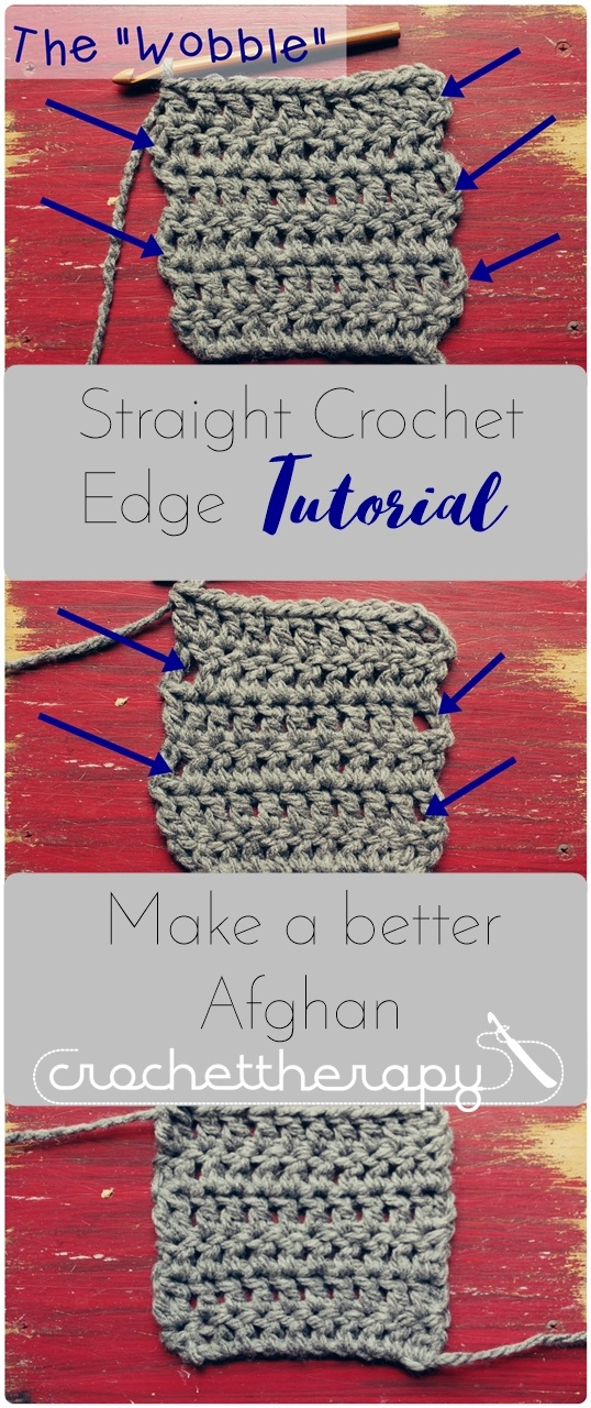 Straight Crochet Edge Tutorial Clean Up Your Edges With This Tutorial