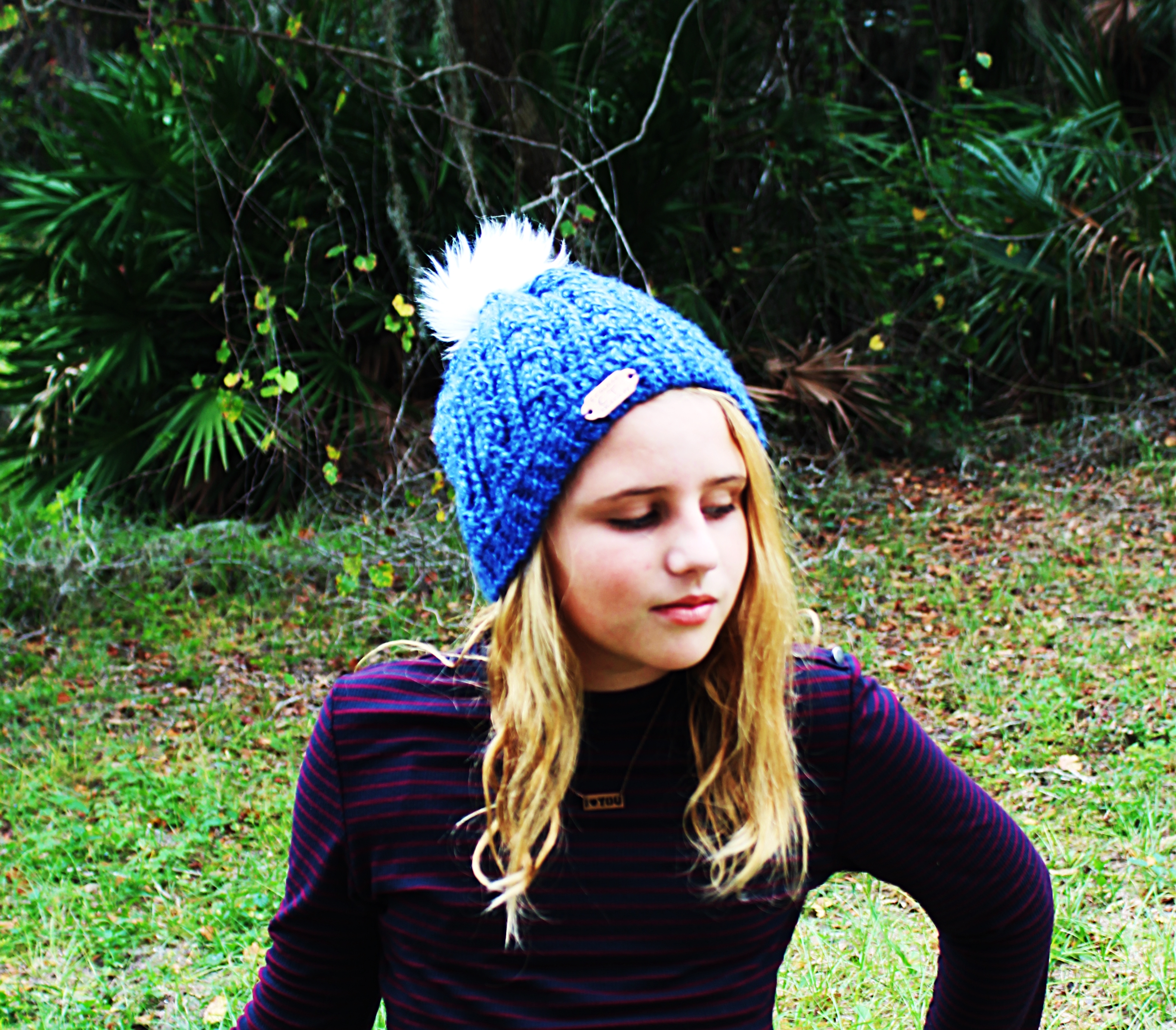 simple crochet cable beanie pattern
