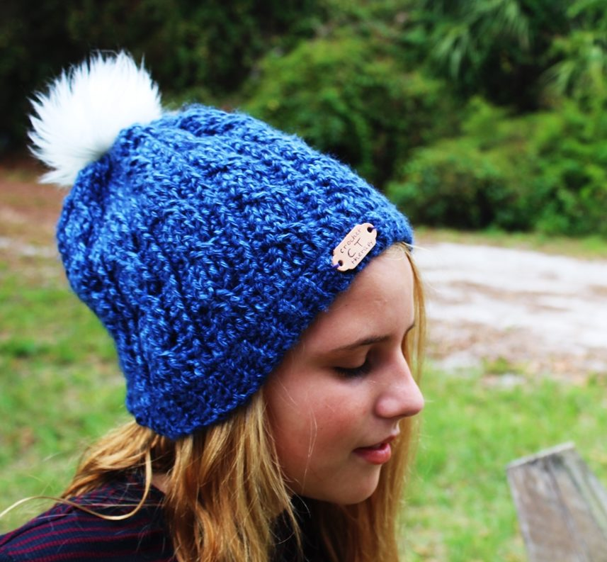 free crochet cable hat pattern