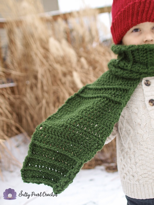 Free Crochet Scarf Pattern For Boys