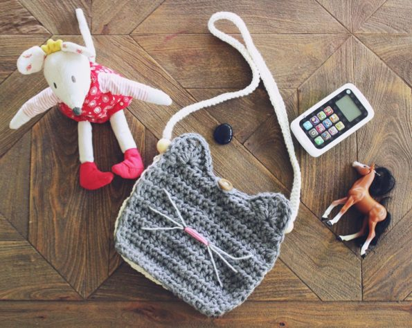 Crochet Cat Purse Free Easy Pattern